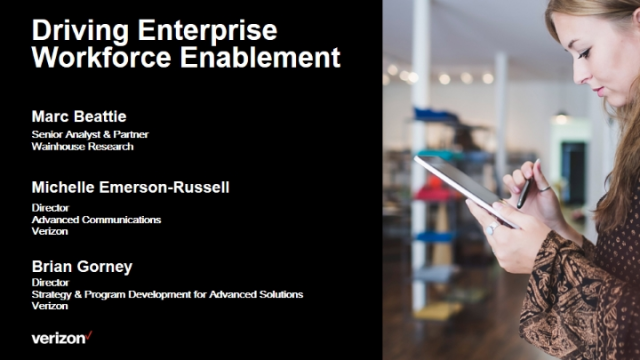 Driving Enterprise Workforce Enablement