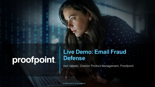 Live Demo: Email Fraud Defense