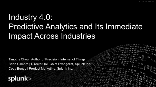 Industry 4.0: Predictive Analytics and Its Immediate Impact Across Industries