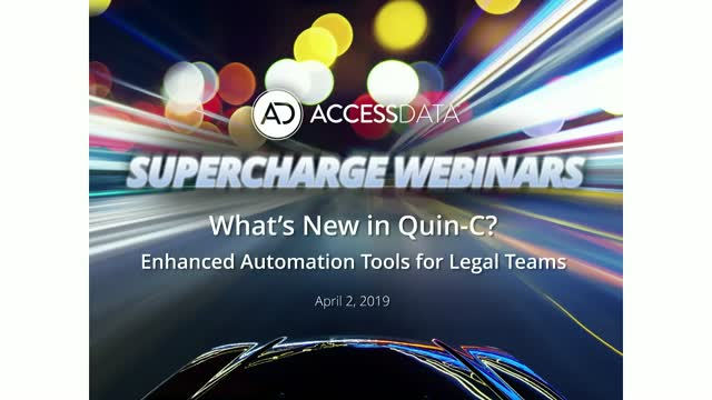 What's New in Quin-C? Enhanced Automation Tools for Legal Teams