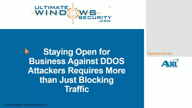 Preventing DDoS Attacks Requires More Than Just Blocking Traffic
