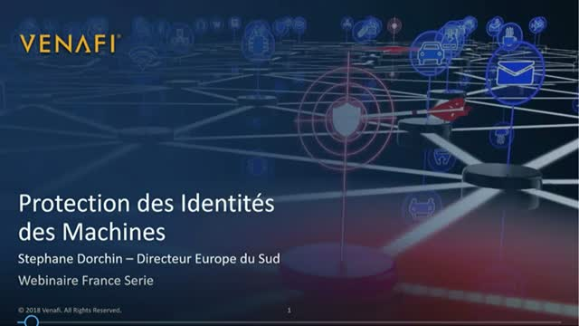 Protection des identités machines