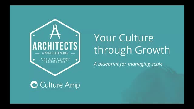Your Culture through Growth: A blueprint for managing scale