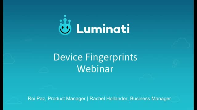 What you need to know about Device Fingerprints
