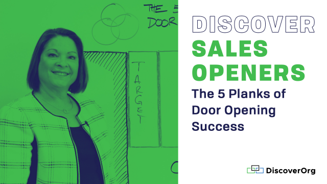 Discover Sales Openers: The 5 Planks of Door Opening Success