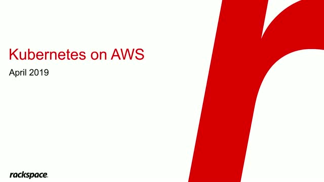 AWS Webinar: Why should you use Kubernetes Containers, and how to run them?