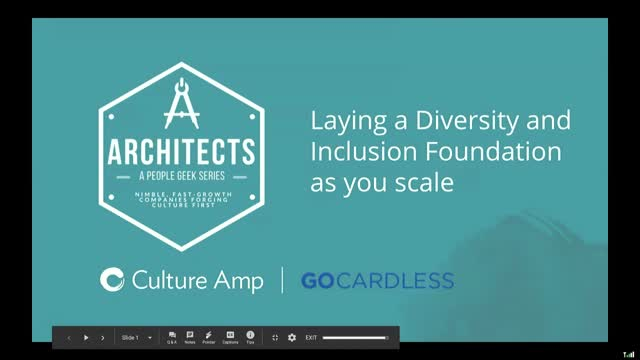 Laying a foundation for Diversity & Inclusion as you scale