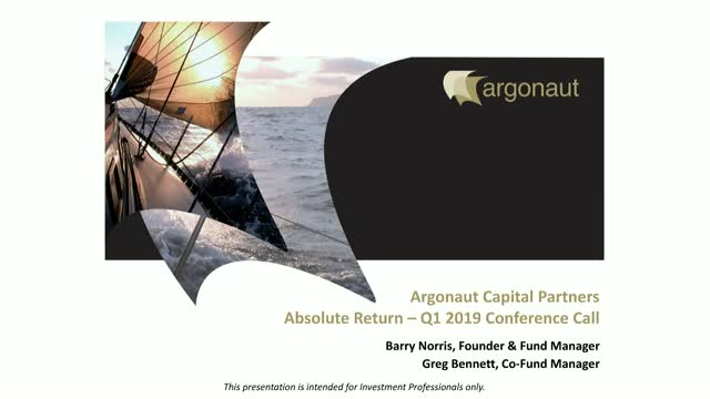 FP Argonaut Absolute Return Fund Q1 2019 Update