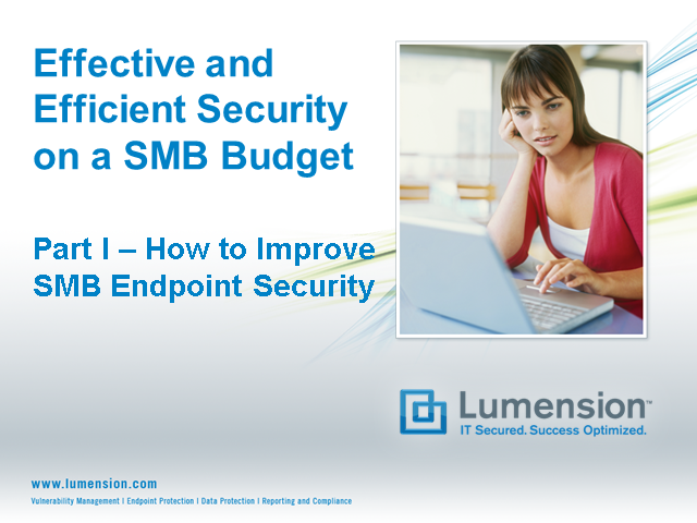 How to Improve Endpoint Security on a SMB Budget