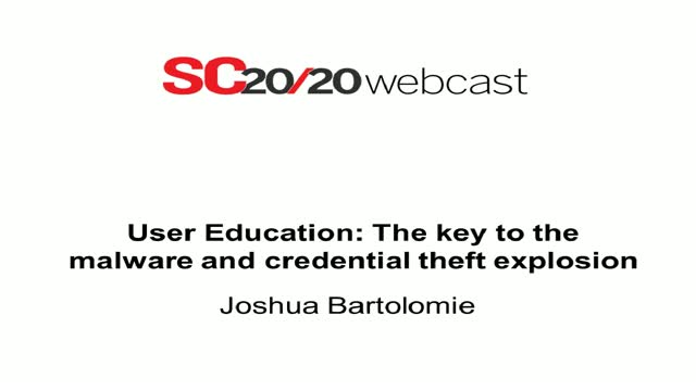 SC Magazine Webcast: The Key to Malware Credential Theft Explosion