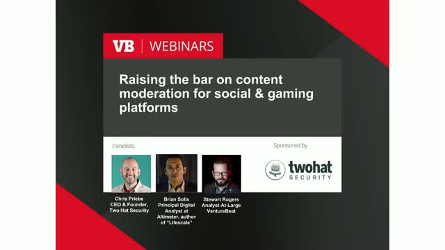 Raising the bar on content moderation for social & gaming platforms