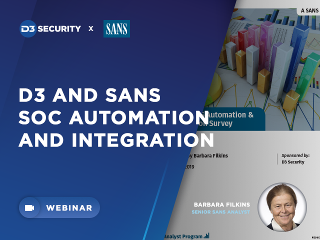 SANS Automation & Integration Survey: What's Next in Automation