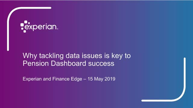 Why data quality is integral to Pensions Dashboard success