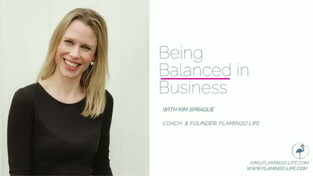 Being Balanced in Business