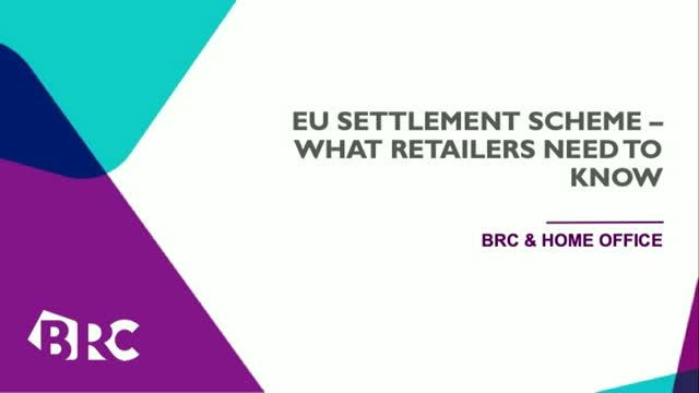 EU Settlement Scheme - what retailers need to know