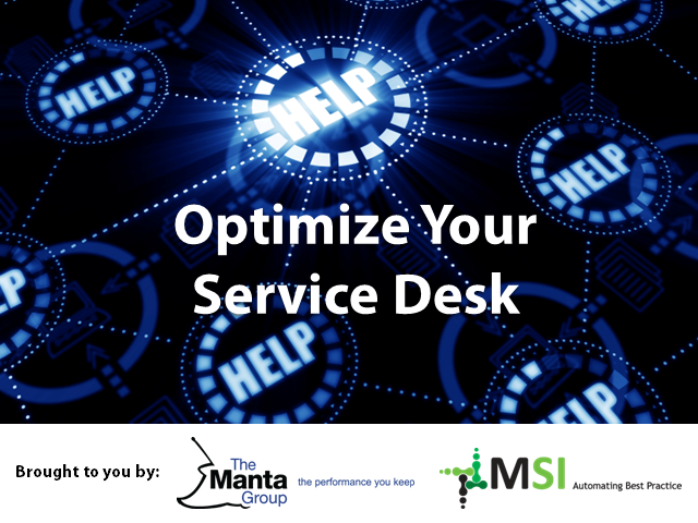 Optimize Your Service Desk