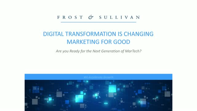 Digital Transformation is Changing Marketing For Good