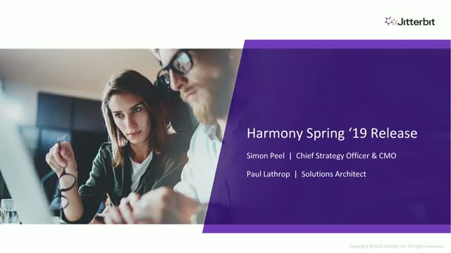 Announcing Jitterbit Harmony Spring '19 Release-1766