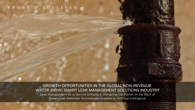 Growth Opportunities in the Global Non-revenue Water (NRW) Smart Leak Management