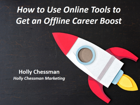 How to Use Online Tools to Get an Offline Career Boost