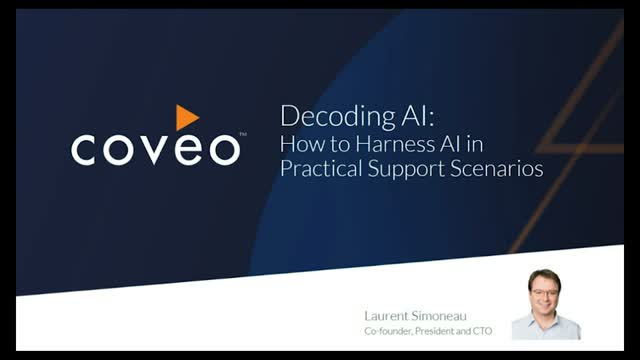 Decoding AI: How to Harness AI in Practical Support Scenarios