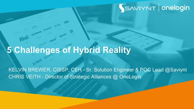 The 5 Challenges of Hybrid Reality