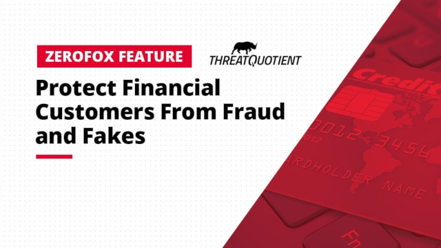 Protect Financial Customers From Fraud and Fakes