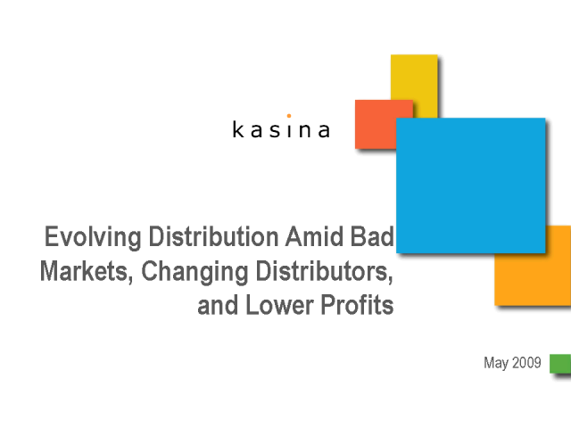 kasina - Evolving Distribution