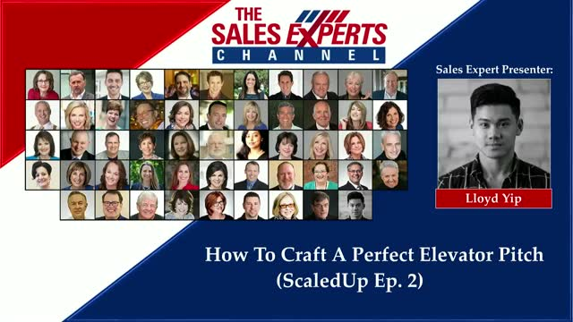 How to Craft a Perfect Elevator Pitch (ScaledUp Ep. 2)