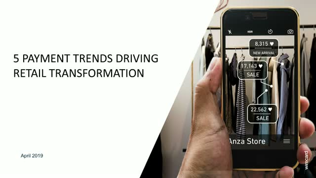 5 Payment Trends Driving Retail Transformation