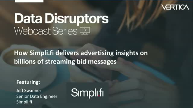 Simpli.fi delivers advertising insights on billions of streaming bid messages