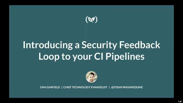 Introducing a Security Feedback Loop