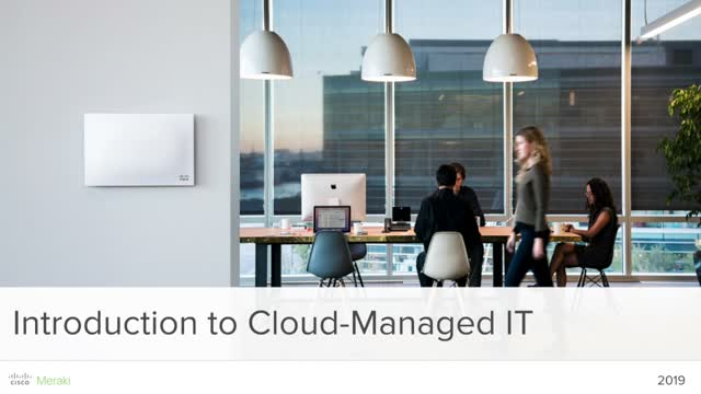 Introduction to cloud-managed IT