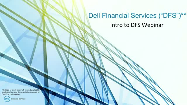 Dell Financial Services: Introduction to DFS