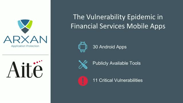 The Vulnerability Epidemic in Mobile Financial Apps