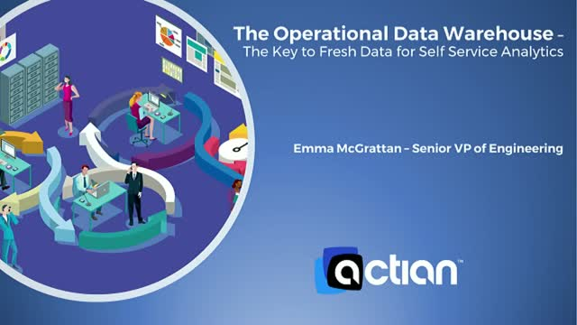 The Operational Data Warehouse –The Key to Fresh Data for Self Service Analytics