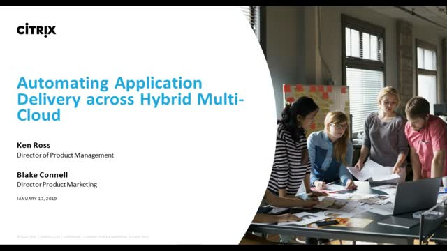 Automating Application Delivery Across Hybrid Multi-Cloud