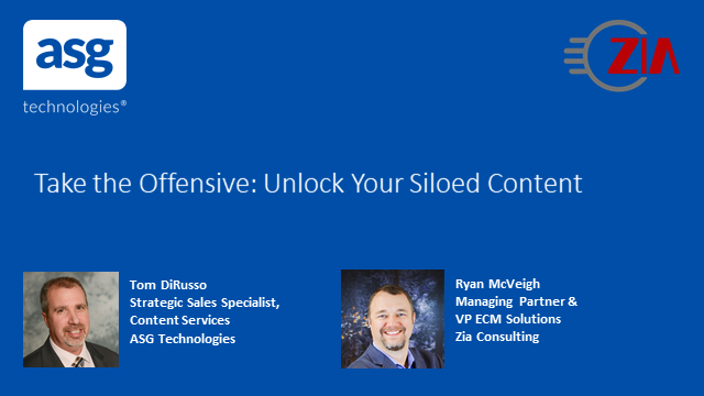 Take the Offensive: Unlock Your Siloed Content
