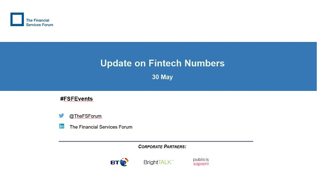 Update on Fintech Numbers