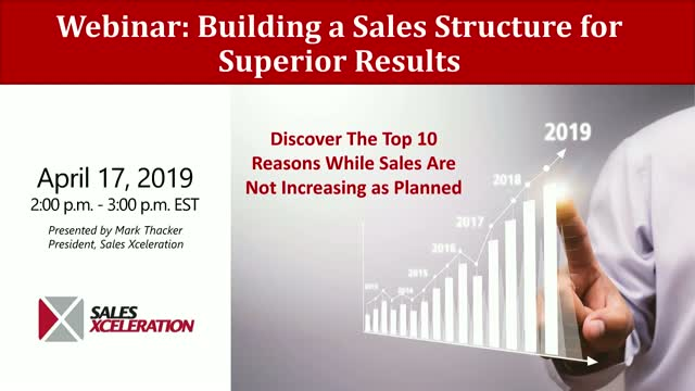 Building a Sales Structure for Superior Results