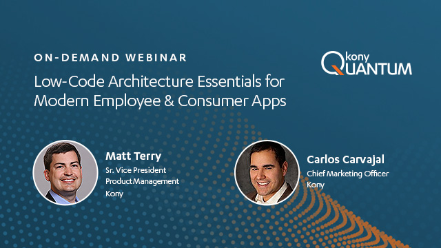 Low-Code Architecture Essentials for Modern Employee & Consumer Apps