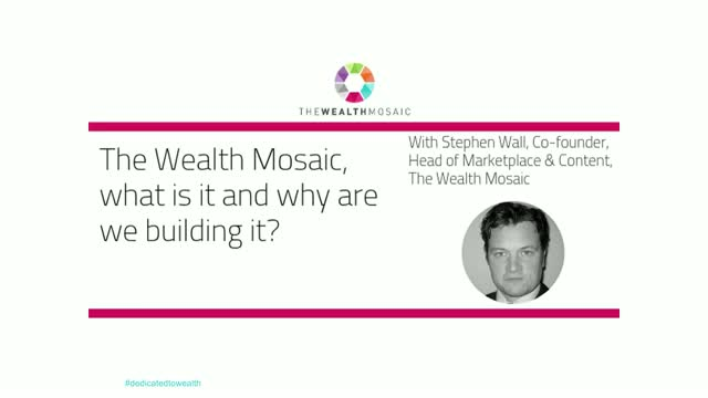The Wealth Mosaic: What is it and why are we building it?