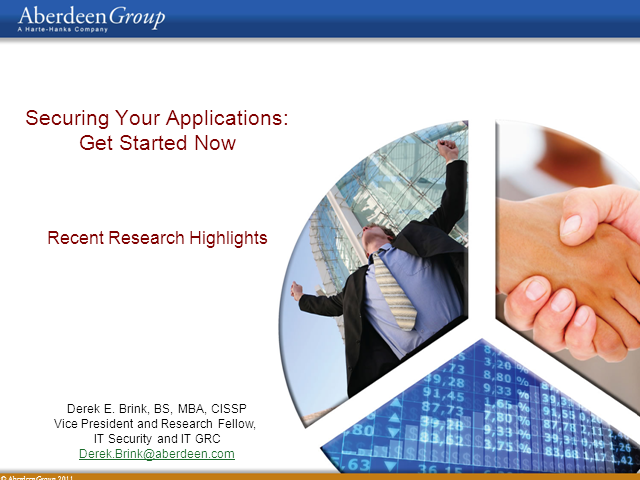 Securing Your Applications – Get Started Now