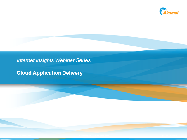 Cloud Application Delivery: Making it Work with Networked Services