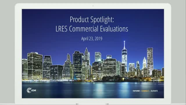 Product Spotlight: LRES Commercial Evaluations
