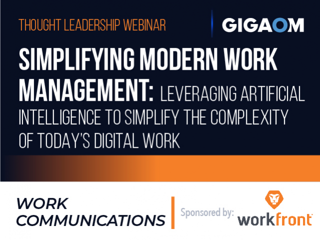 Simplifying Modern Work Management: Leveraging Artificial Intelligence