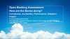 Open Banking Assessment: How are the banks doing?