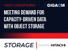 Meeting Demand for Capacity-driven Data with Object Storage