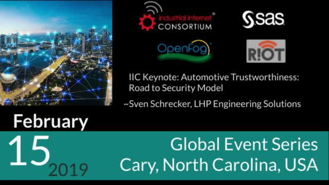 IIC Keynote: Automotive Trustworthiness: Road to Security Model