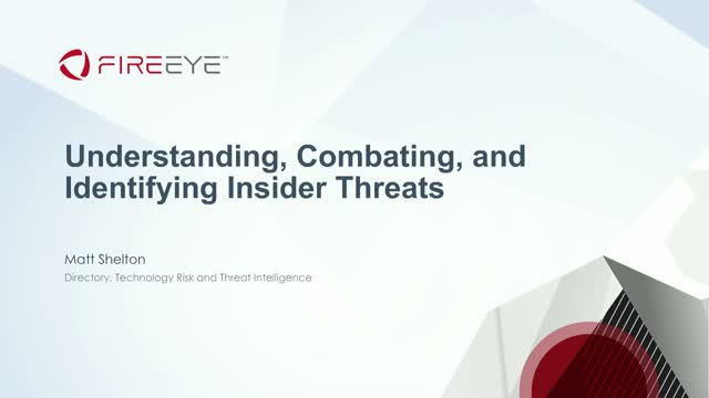 Understanding, Combating, and Identifying Insider Threats for Government